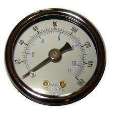 самый лучший Манометры компрессора воздуха цифровые, жидкость заполнили манометр