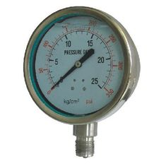 Китай stainless steel Stainless steel pressure gauge for measurement of the pressure of many kinds of corrosive fluid mediums для продажи